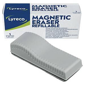 Effaceur magnétique pour tableau blanc Lyreco, gris