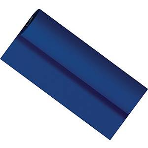 Rollo de mantel Duni Dunicel - papel tacto tela - 10 x 1,18 m - azul