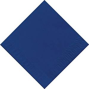 Paquete 125 servilletas de papel Duni - 2 capas - 330 x 330 mm - azul
