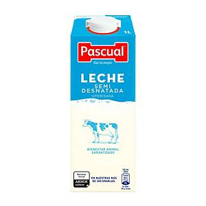 PK6 PASCUAL TETRABRIK HALF WHOLE MILK 1L