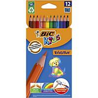 Bic Kids Evolution ECOlutions Colouring Pencils - Box of 12