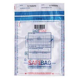 Koperty bezpieczne Bong SAFEBAG B5, przezroczyste, w opakowaniu 100 sztuk