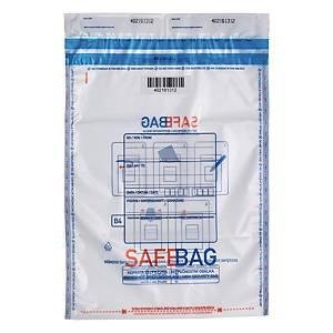 Koperty bezpieczne Bong SAFEBAG B4, przezroczyste, w opakowaniu 100 sztuk