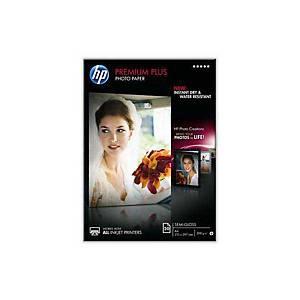 InkJet Fotopapier HP Premium Plus CR673A A4, 300 g/m2, matt, Pack à 20 Blatt