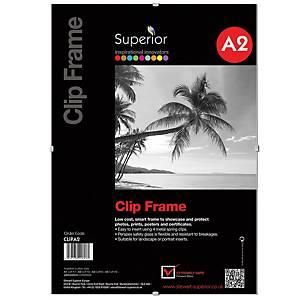 Perspex Clip Frame A2