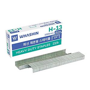 BX1000 WHASHIN H13 STAPLES 6MM