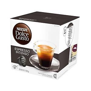 Caixa 16 cápsulas de café Dolce Gusto Espresso intenso