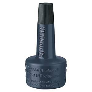 PELIKAN, 351197, encre à tampon sans huile, Flacon de 28ml, noir