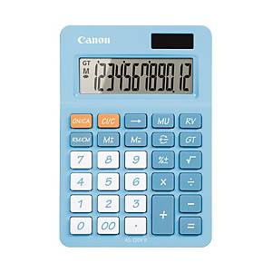 CANON AS-120 POCKET CALCULATOR 12 DIGITS BLUE