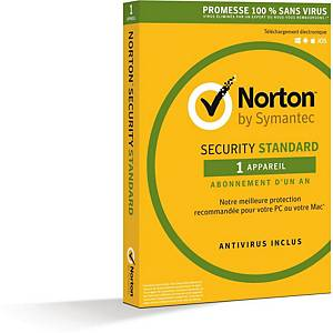 Antivirus Norton Internet Security - 1 poste - 1 an