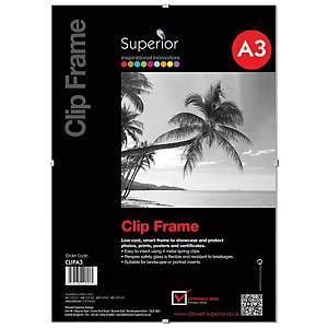 Perspex Clip Frame A3