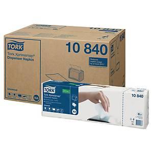 Serviettes Tork Xpressnap®, 1 épaisseur, 21,3 x 33 cm, le paquet de 1.125 pièces