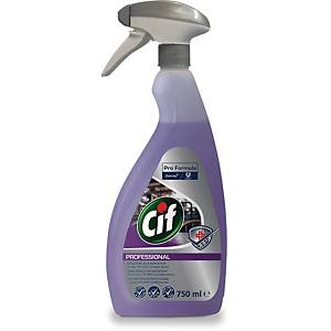 CIF PROFESSIONAL 2IN1 DISINFECTANT 750ML