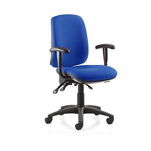 Fusion High Back Chair Blue