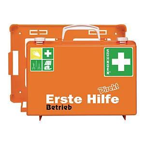 Erste-Hilfe-Koffer Söhngen Betrieb, mit Füllung, nach DIN 13157, orange