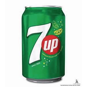 7UP frisdrank, pak van 24 blikken van 33 cl