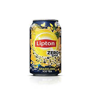 Soda Lipton Ice Tea Zero, le paquet de 24 canettes de 33 cl