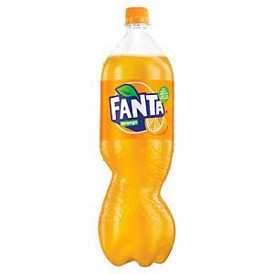 Fanta Orange frisdrank plastic fles 1,5L - pak van 4