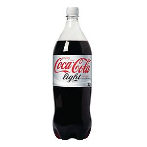 Coca-Cola Light frisdrank, pak van 6 flessen van 1,5 l