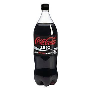 Coca-Cola Zero frisdrank, pak van 6 flessen van 1,5 l