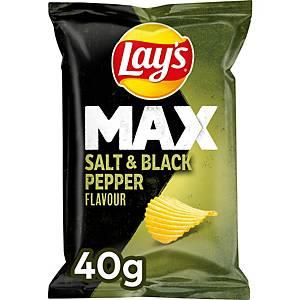 Lay s chips peper en zout, doos van 20 zakken