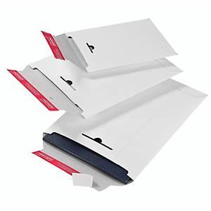 Versandtasche Colompac CP012.04, C4+, ohne Fenster, Selbstklebung, 100g, weiß