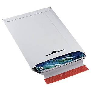Enveloppes ColomPac®, C4+, carton blanc, fermeture autocollante, l enveloppe
