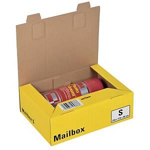 Versandbox Dinkhauser CP098.82, Innenmaße: 249 x 175 x 80mm, S, gelb
