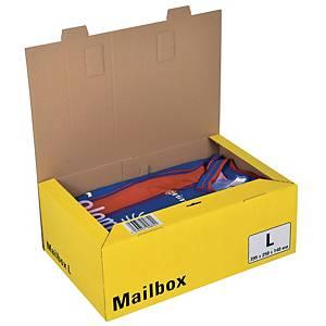 Versandbox Dinkhauser CP098.84, Innenmaße: 395 x 248 x 140mm, L, gelb