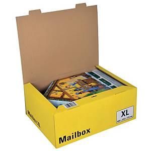 Versandbox Dinkhauser CP098.85, Innenmaße: 460 x 333 x 175mm, XL, gelb