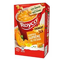 Royco Crunchy Suprême de Potiron, la boîte de 20 sachets