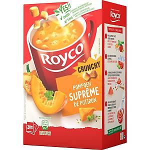 Suprême de potiron Royco, la boîte de 20 sachets