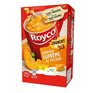 Royco Crunchy Pompoensuprême, doos van 20 zakjes
