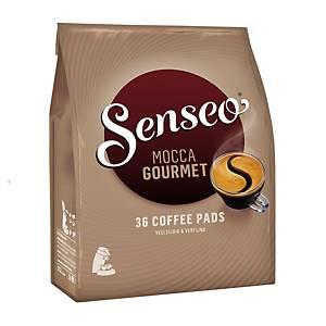 Senseo® Mocca Gourmet koffiepads, 7 g, pak van 36 pads