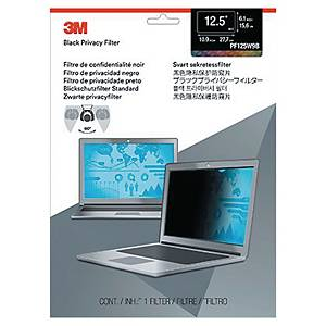 3M PF12.5W9 privacy filter black for laptop screen 12.5 W9 widescreen