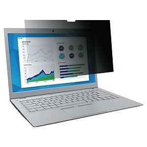 Filtre de confidentialité 3M™ pour ordinateur portable écran 12,5  (PF125W9B)