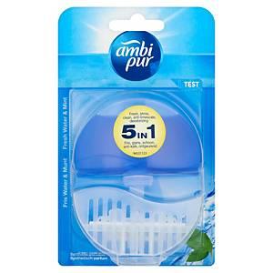 Ambi Pur Flush starterkit toilet block Fresh Water & Mint 55ml