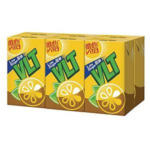 Vita Lemon Tea Low Sugar 250ml - Pack of 6