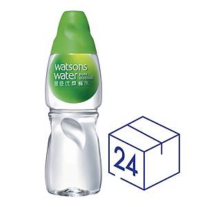 Watsons Distilled Water 430ml - Pack of 24