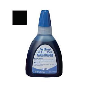 Artline Whiteboard Marker Refill Ink 60ml Black