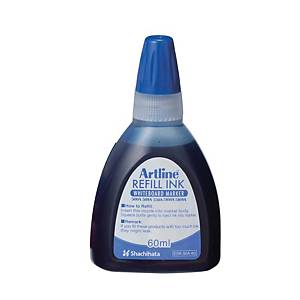 Artline Whiteboard Marker Refill Ink 60ml Blue