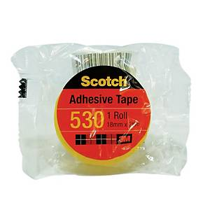 3M Scotch Clear Adhesive Tape 18mm X 25m