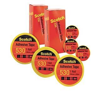 3M Scotch Clear Adhesive Tape - 24mm X 66m