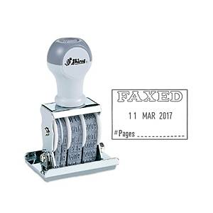 Shiny S-67 Dater Stamp With  Faxed