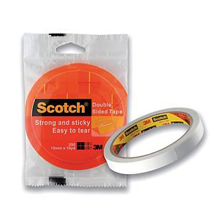 Scotch Double-Sided Tissue Tape 6mm X 9m