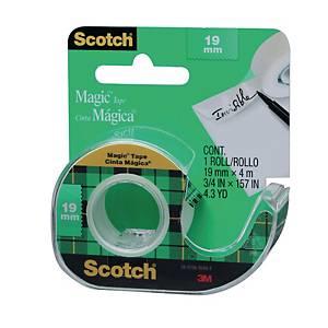 3M Scotch Magic  Tape With Dispenser 19mm X 4m