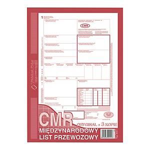 Druk MICHALCZYK&PROKOP CMR  Międzynarodowy list przewozowy  A4 (O+3K), 80 karte