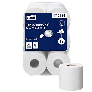 Toilettenpapier Tork SmartOne Mini 472193, 2-lagig, Packung à 12 Rollen