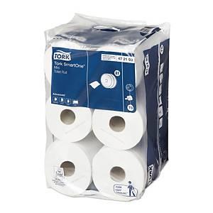 Toaletný papier Tork SmartOne Mini 472193, biely