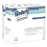 Carta igienica in rotoli salvaspazio Tenderly Professional 2 veli - conf. 30